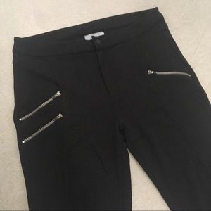 Athleta Black Moto Leggings